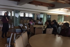 Ursula Franklin high school visit -April 11, 2018