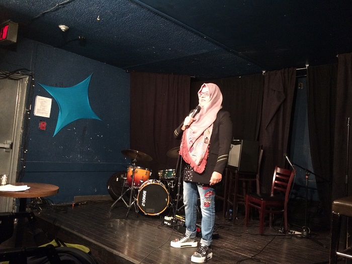 Jewish-Muslim Comedy Night April 14 2018 - Shelina Merani