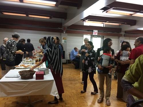 Jummah Visit - Fairlawn United Church2